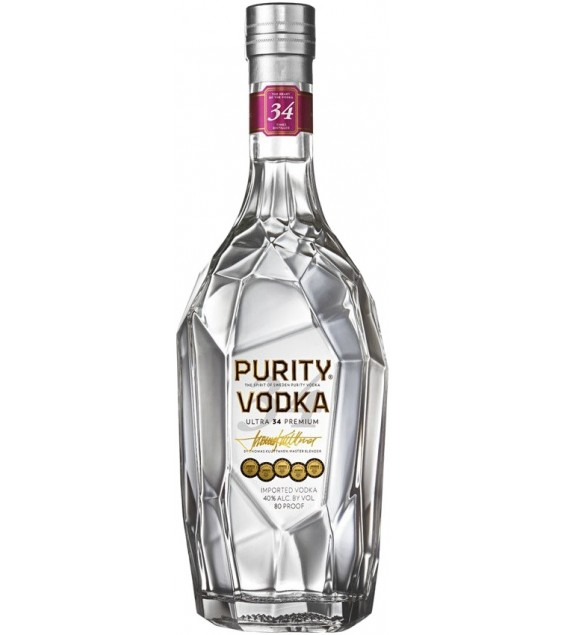 Горілка Purity Ultra 34 Premium Vodka