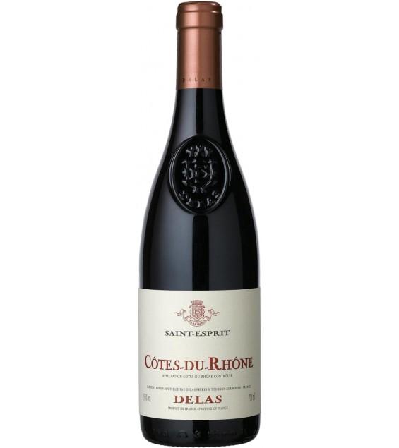 Вино Delas Cotes du Rhone Saint-Esprit